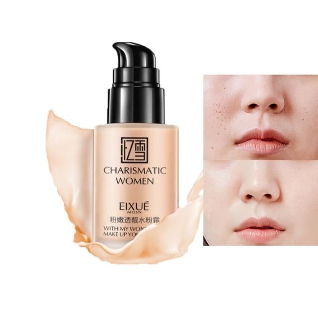 2019 cara Fundación de suave mate crema desgaste largo de Control de aceite corrector líquido Fundación crema moda mujer maquillaje