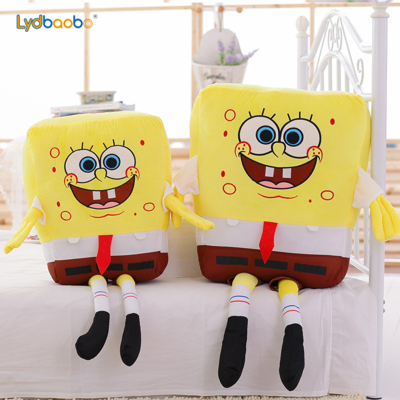 1PC 40/50CM Cute Kawaii Baby Toy Spongebob Patrick Star Plush Toys Cartoon Soft Animal Pillow Dolls Children Kids Birthday Gifts