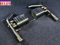 Catback глушитель выхлопной для BMW 04 13 E90 E91 E92 E93 335i с или без пульта дистанционного управления глушитель клапан автомобиль Стайлинг