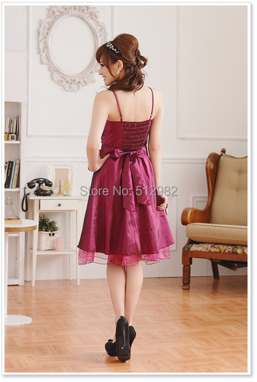 220c3390900 Homecoming dresses Europe   America high quality women vestido informal  evening dress fashion plus size prom dress 9105-in Prom Dresses from  Weddings ...