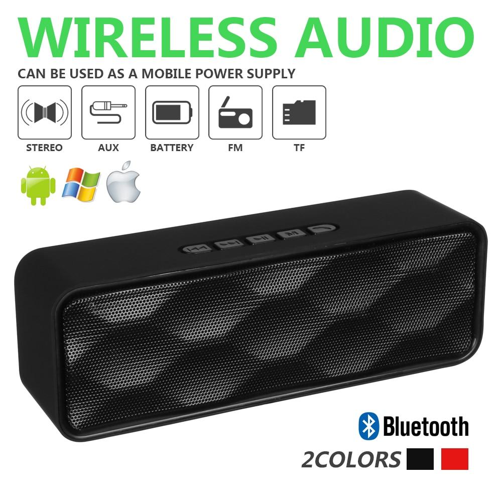Recharegable Wireless Bluetooth Speakers Portable Outdoor USB//TF//FM Stereo Audio