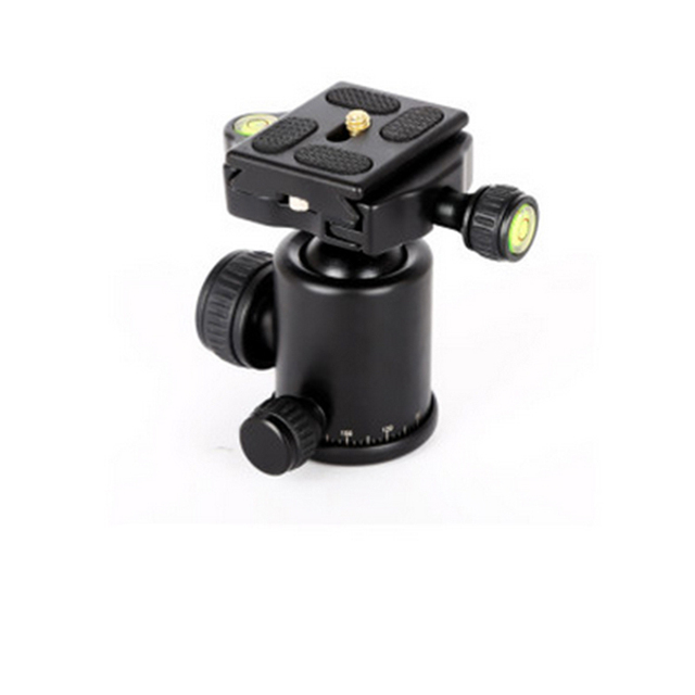 QZSD-06 360 Degree Rotated Professional Panoramic Gimbal Tripod Ball Head for DSLR Cameras