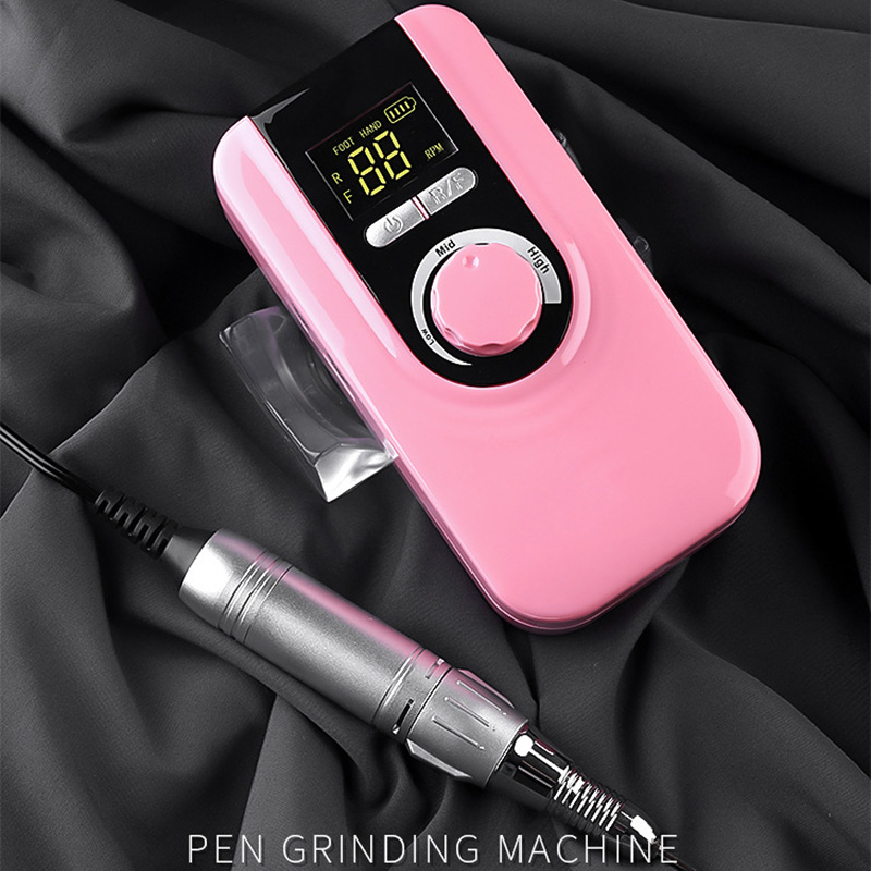 Hot Sale Electric Polisher Nail Art Drill Machine File Portable Rechargeable ManicureHot Sale Electric Polisher Nail Art Drill Machine File Portable Rechargeable Manicure