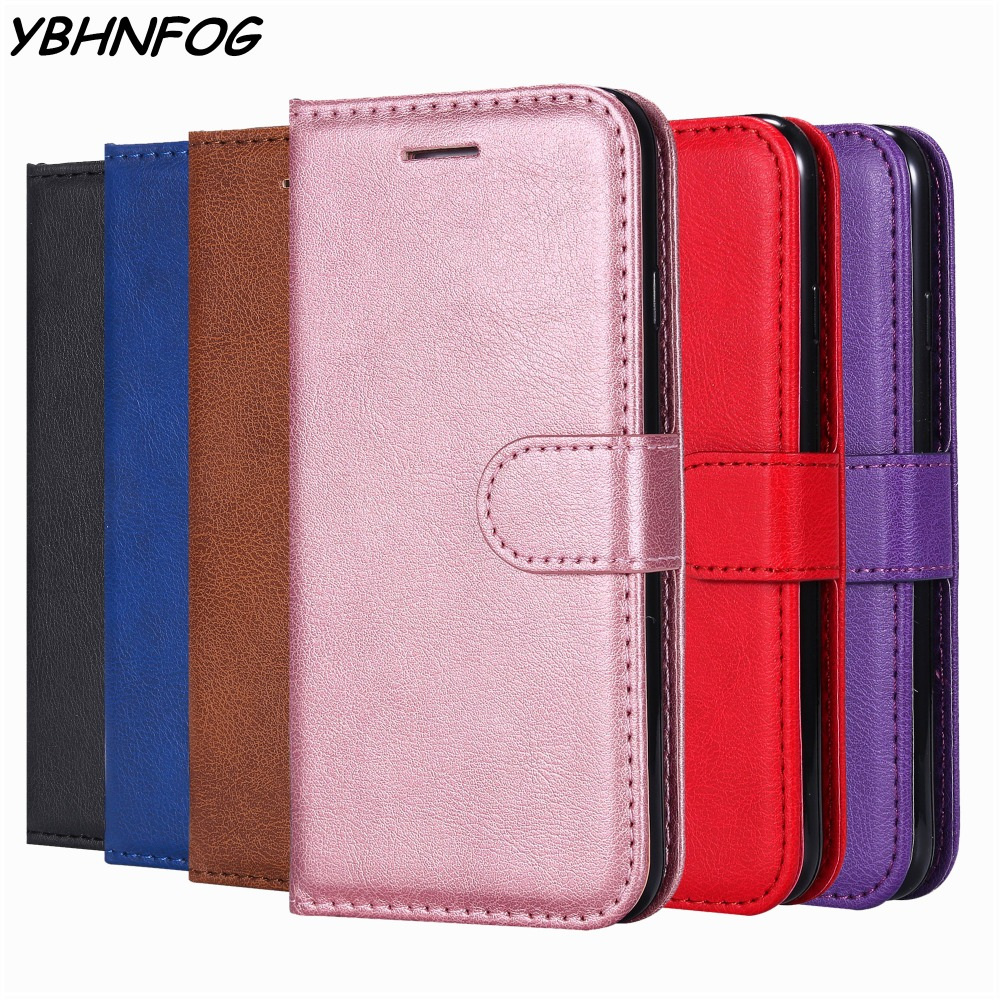 Retro PU Leather Flip <font><b>Case</b></font> For <font><b>Huawei</b></font> Y5 Y6 Pro <font><b>Y7</b></font> Prime 2018 Y9 <font><b>2019</b></font> Wallet Bags Cover For <font><b>Huawei</b></font> Honor 7A Pro 7C 8A 8C 8X <font><b>Case</b></font> image