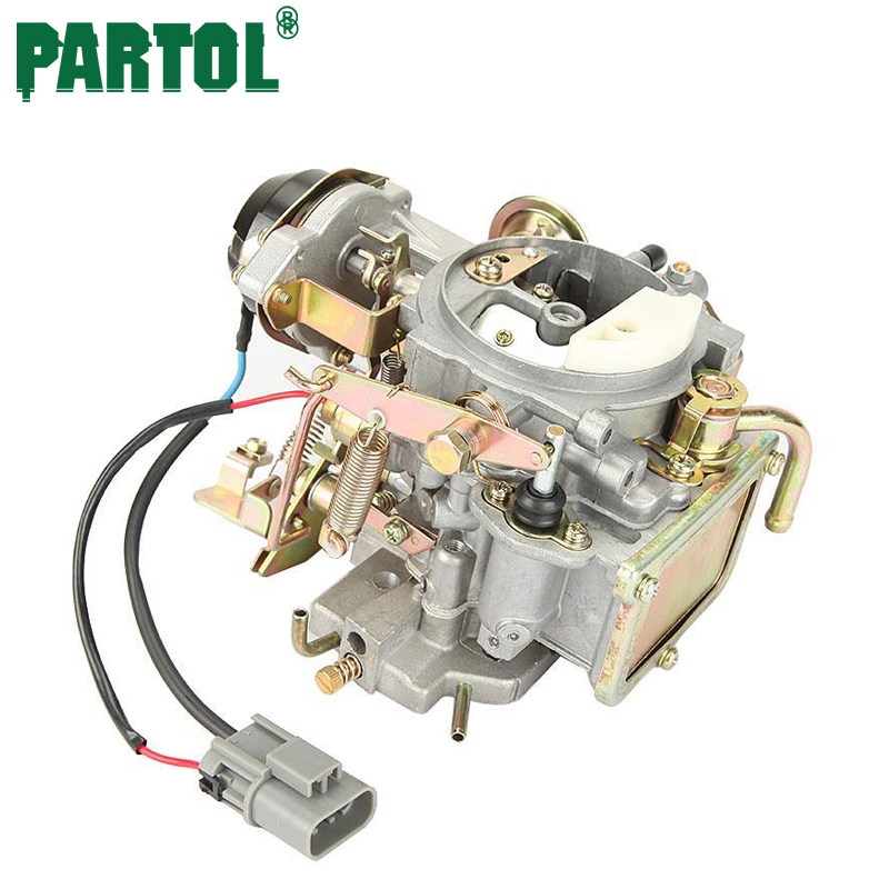 Partol Car Carburetor Carb Engine Assembly Auto Carburetor Replacement Parts for Nissan 720 pickup 2.4L Z24 engine 1983-1986 jiangdong engine parts for tractor the set of fuel pump repair kit for engine jd495