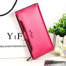 Купить с кэшбэком 2019 New Fashion Women Wallets Leather Women's Wallets Lady Notecase Design Wallet Change Purse Female Clutch Card Holder bags