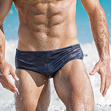 Men Swimwear Swim Bikini Briefs Swimsuits Quick Dry Solid Summer Board Surf Shorts Trunks Boxer Bathing Suit Beachwear