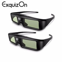 2pics G06 3D Active DLP-link Shutter Virtual Reality Glasses Support 3D DLP link projectors such as For Optama Acer BenQ Dell(China)