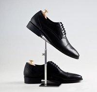 Hurtownie Małe sterowane butów stojak ze stali nierdzewnej/sklepów wyświetlacz sklep dedykowany manekiny shoe rack rekwizyty 70*110 MM C203