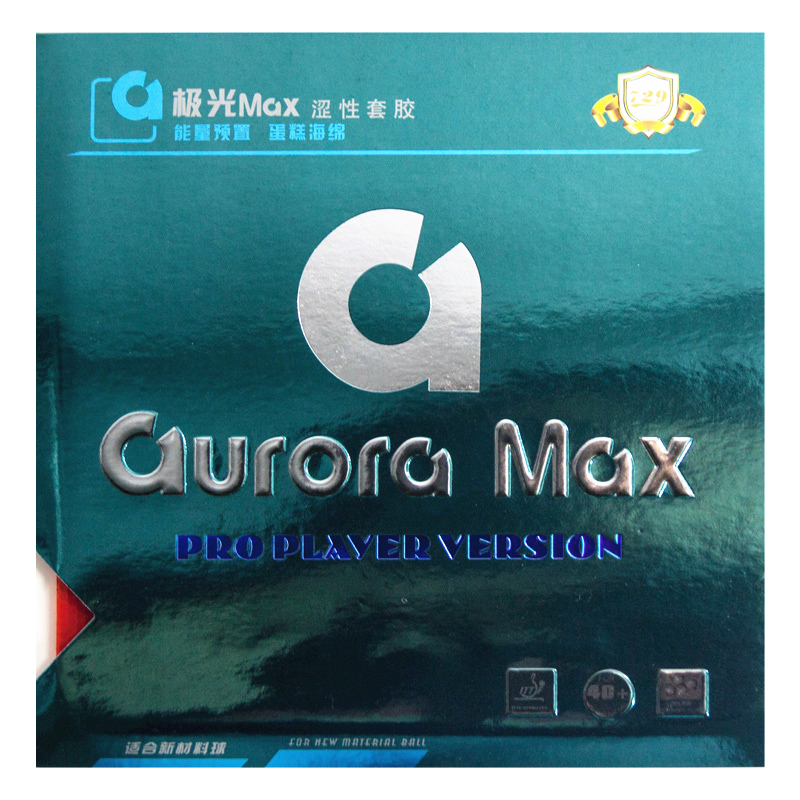 729 Friendship Aurora MAX Pro Table Tennis Rubber Player Version Non-sticky Ping Pong Sponge