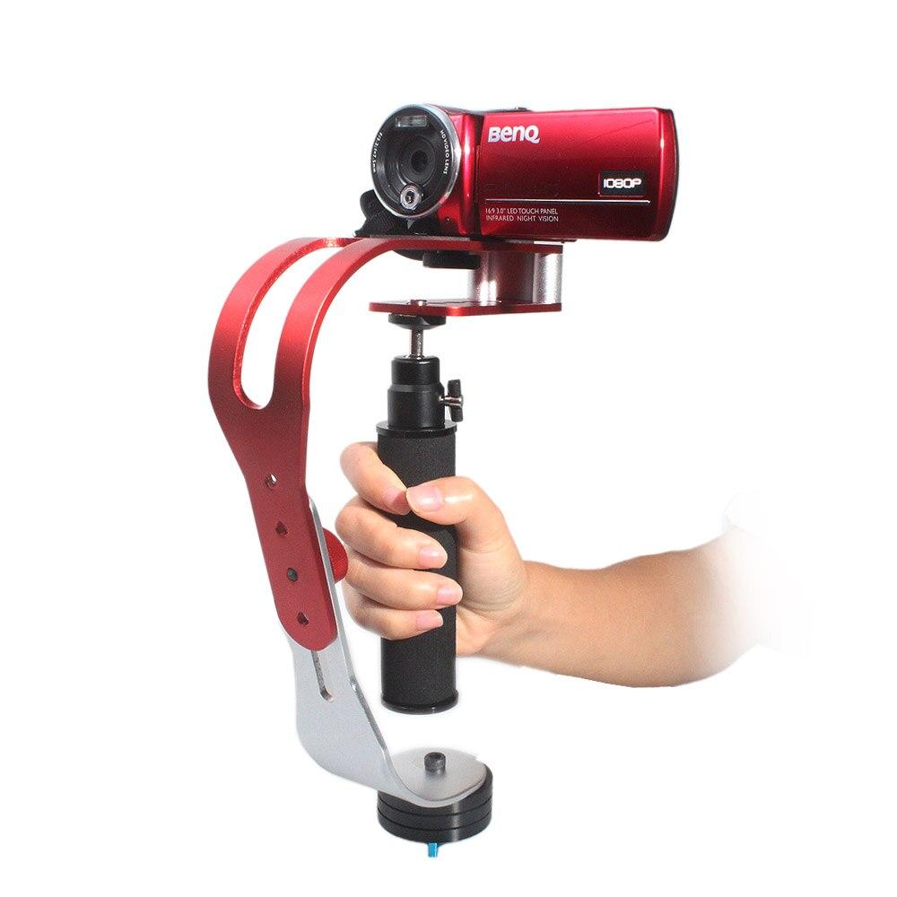 Support d'adaptateur de stabilisateur vidéo stable à main Portable pour iPhone Samsung Gopro Hero HD caméscope caméra numérique DV DSLR