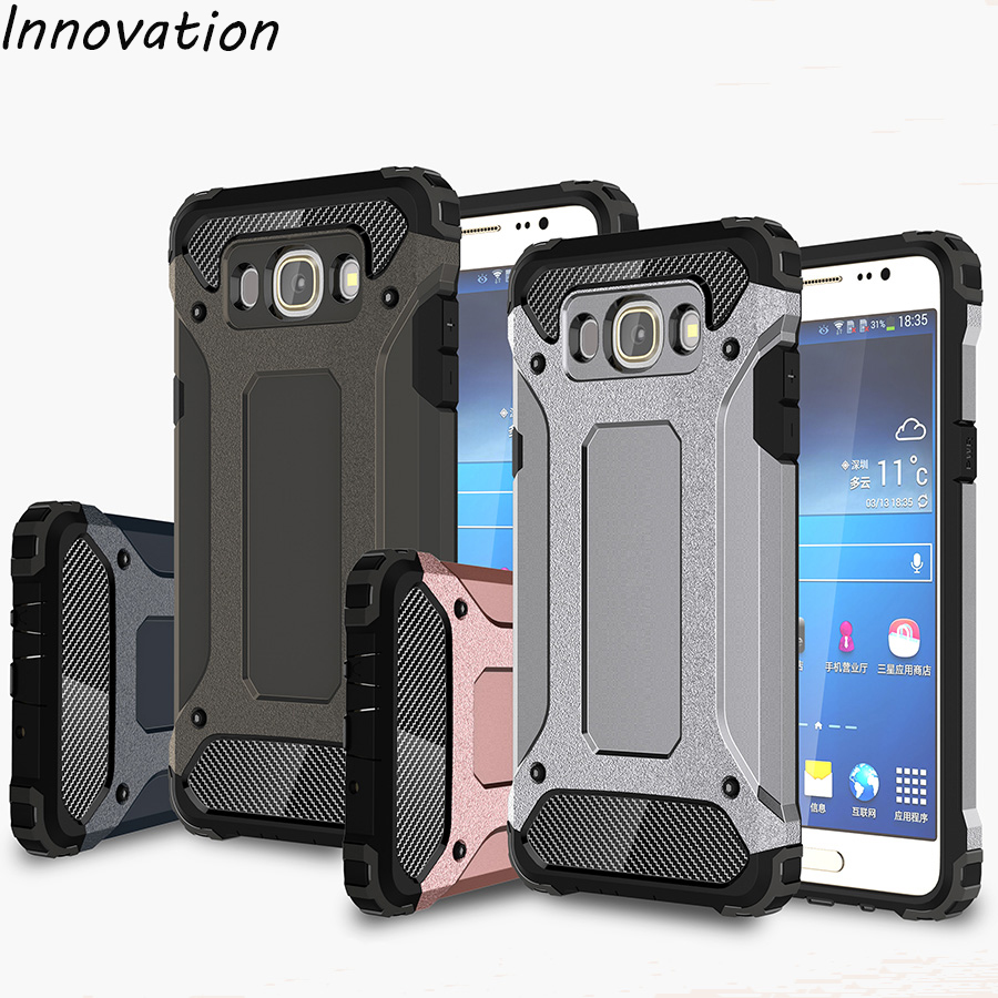 Innovation For Samsung Galaxy J7 2016 Case Silicone Shockproof Hard Tough Armor Case For Samsung Galaxy J7(2016) J710 SM-J710F