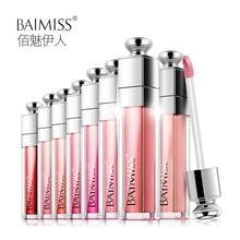 BAIMISS Waterproof Lip Glaze Balm Liquid Tint Color Lasting Protection Lipstick Makeup Cosmetics Beauty Essentials 8 Color