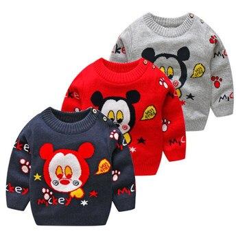 c06777c8c BibiCola otoño niñas suéter niños de dibujos animados niñas suéteres  primavera algodón niñas suéter Niño de punto ropa