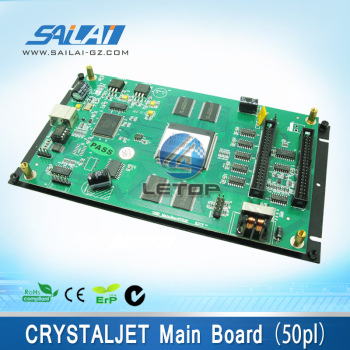CRYSTALJET printer motherboard for crystaljet printer(50pl)