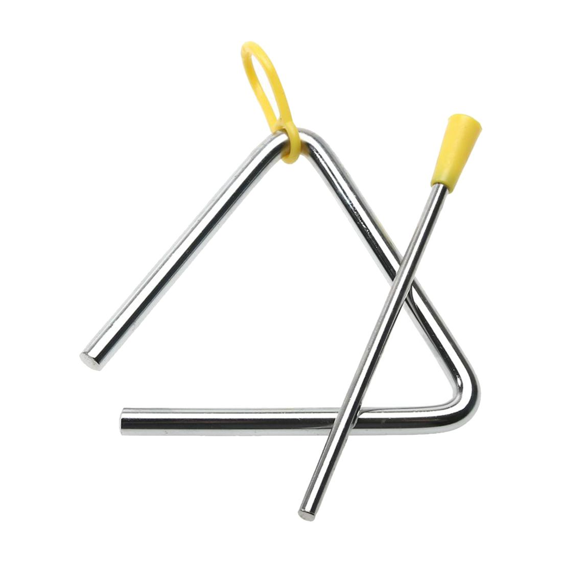 New Children Toy Musical Instrument Rhythm Band Triangles Angle Iron Educational Preschool