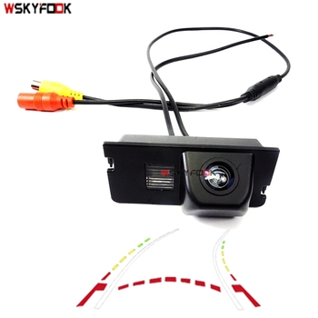 HD car rear camera reversing parking assist for Chery A3 hatchback A1 tiggo 5 QQ 3 E3 FULWIN2 Dynamic trajectory camera фото