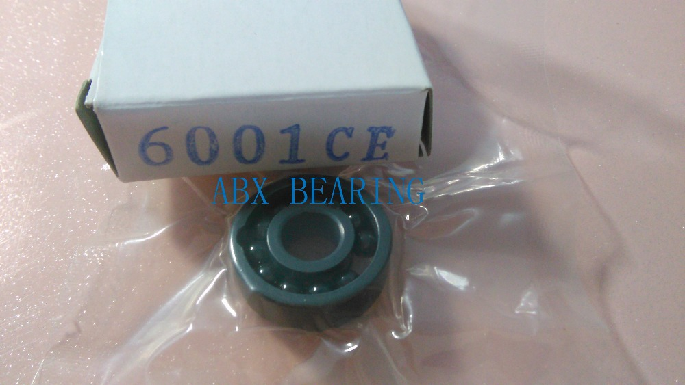 6001 full SI3N4 ceramic deep groove ball bearing 12x28x8mm full complement чайник bosch twk 6001