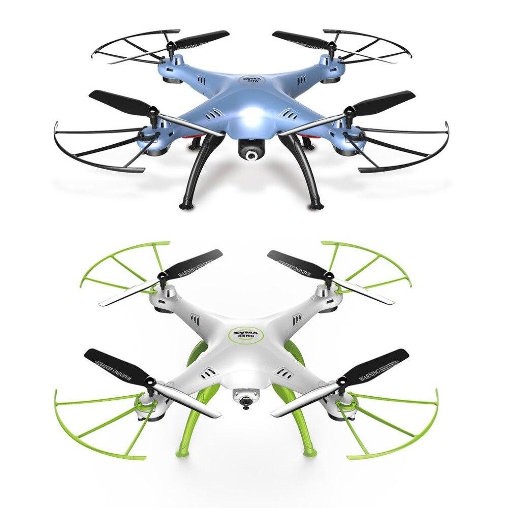 OCDAY X5HW RC Drone Mini quadrirotor 10 Ch main contrôlant quatre axes avion extérieur électrique bleu/vert jouet cadeau pour enfants