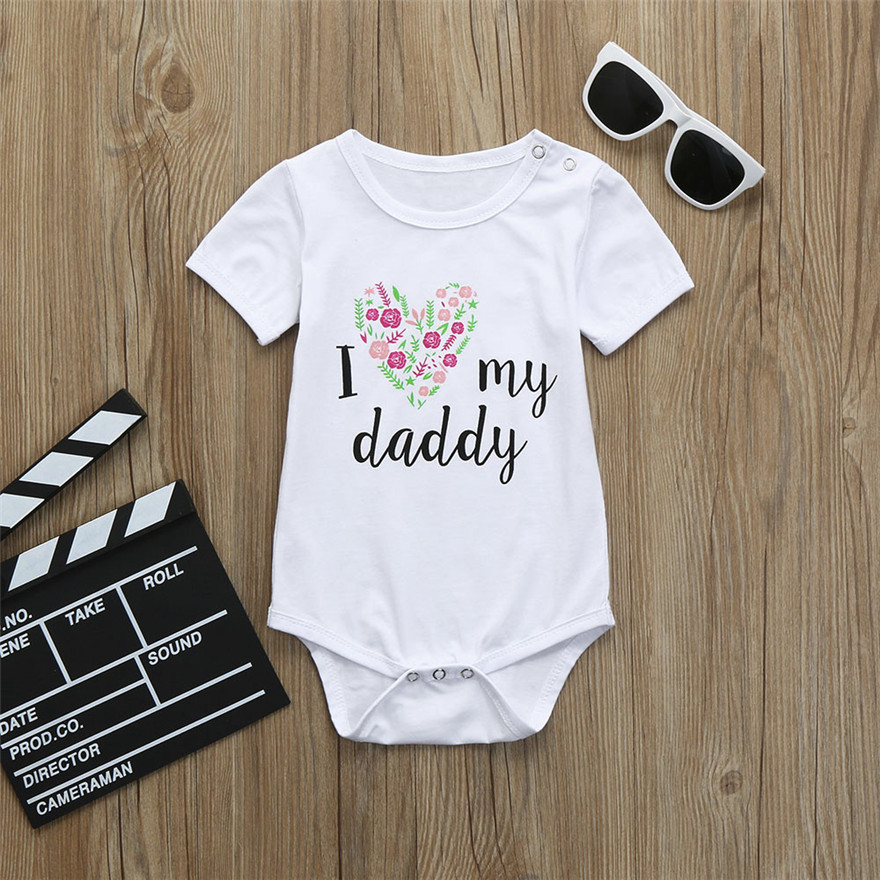 7d1148bbf Telotuny 2018 HOT Cute Newborn Kids Baby Letter Print Girls Boys ...