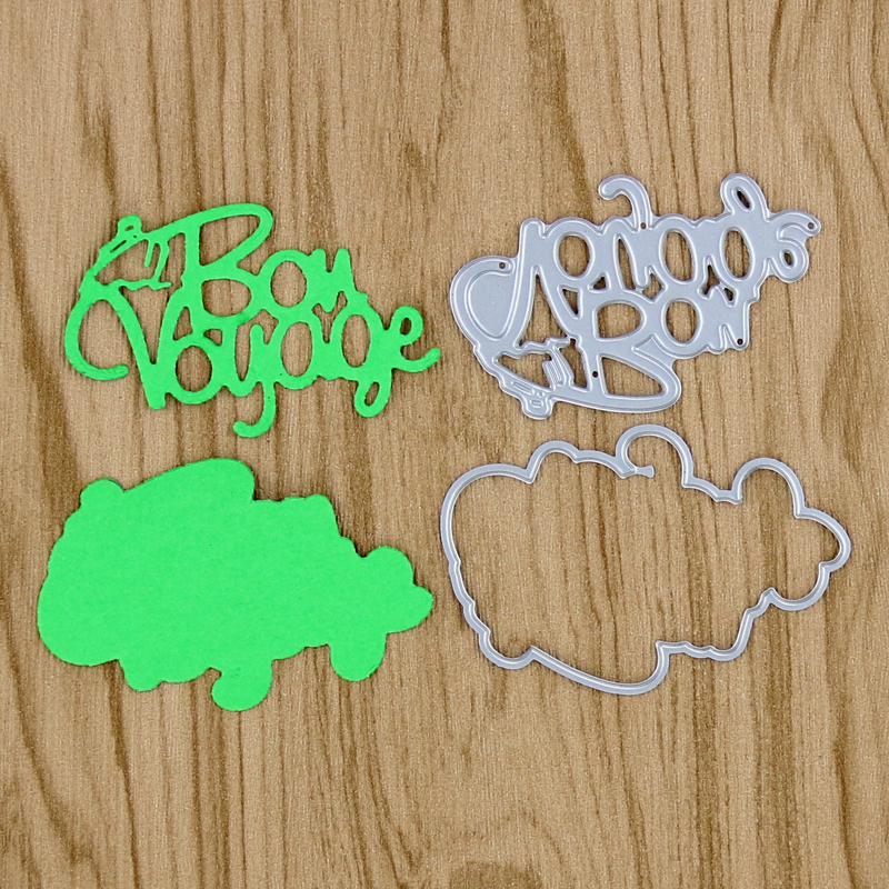 2017 new Die cut Voyoge Metal die cutting dies for DIY Scrapbooking Photo Album Decoreti ...