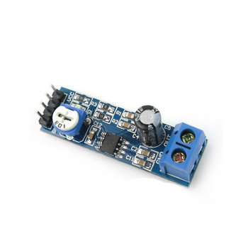 1PCS, OTM156, LM386, put big board, 200 times gain, amplifier module, audio amplifier, power amplifier board, mono sound channel image