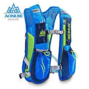 Image 3 - Yeni AONIJIE koşu maratonu hidrasyon naylon 5.5L açık koşu çantaları yürüyüş sırt çantası yelek maraton bisiklet sırt çantası