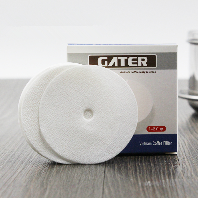 GATER 200pcs Coffee Filter Paper Easy To Use Suitable For Vietnam Coffee