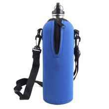 1pcs Outdoor Neoprene Sport Water Bottle Insulator Sleeve bag Carrier with Removable Straps