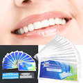 28pcs/Box  3D White Whitestrips Advanced Teeth Whitening Strips Tooth Care Stain Remove Cleaning Tool