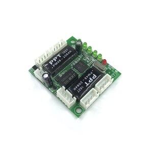 Image 2 - Mini projeto do módulo ethernet switch circuit board para o módulo de switch ethernet 10/100 mbps 5/8 portas placa PCBA OEM motherboard