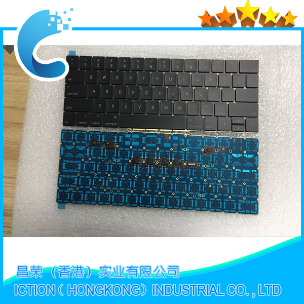 100% NEW Original Laptop Keyboard US version For Macbook A1706 US Keyboard Replacement new original laptop a1706 us keyboards for macbook pro retina 13 inch a1706 keyboard 2016 year replacement