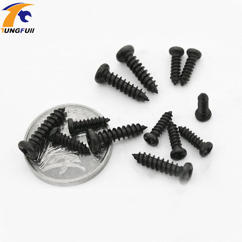 Black M2x10mm Cap Screws Bolts Cross Head Screws for Wooden Jewelry Box Self tapping Computer Case Screws Hex Socket M2 100pcs 50pcs lots carbon steel screws black m2 bolts hex socket pan head cap machine screws wood box screws allen bolts m2x8mm
