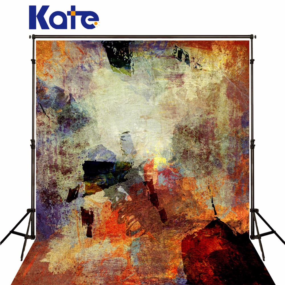 KATE Photography Background Graffiti Backdrop Brick Print Fabric Backdrop Abstract Texture Backdrop Vintage Backdrops for Studio