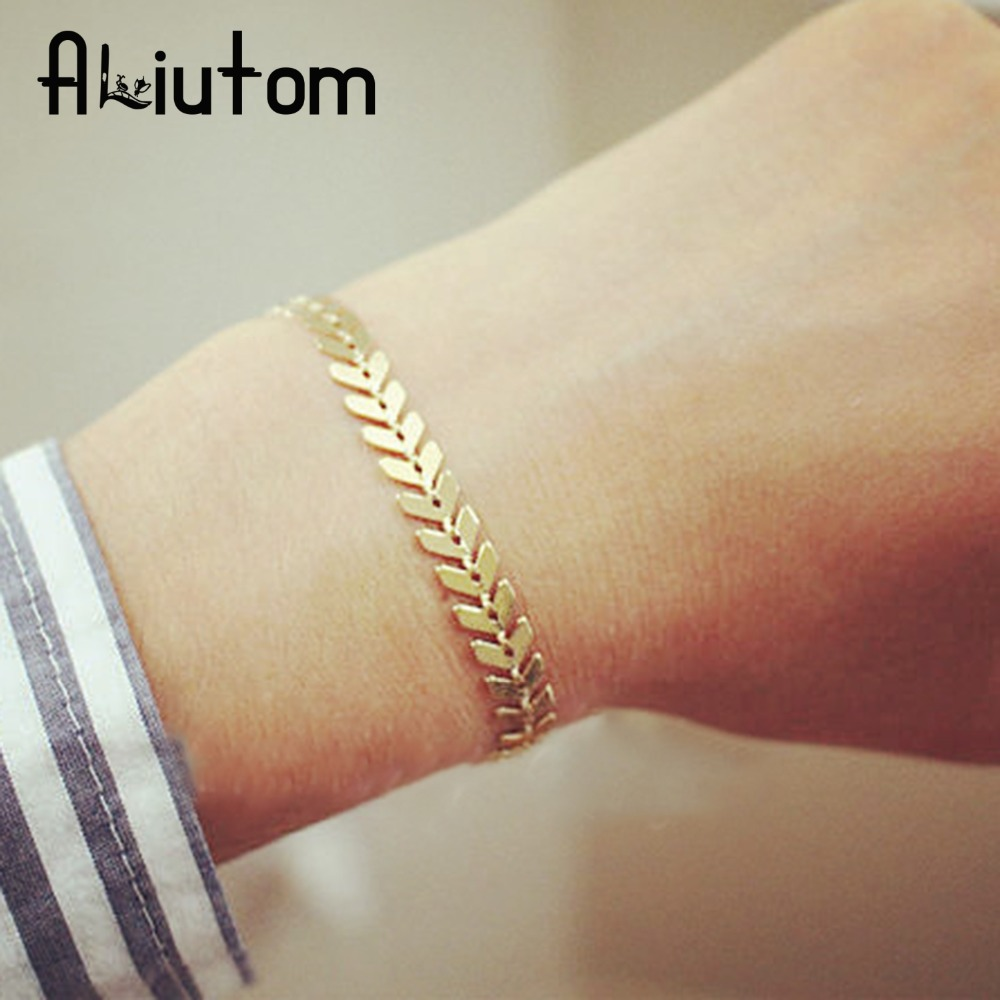 ALIUTOM Personality Women Jewelry Shell Slices Pendant Femme Accessories Bracelet & Bangle