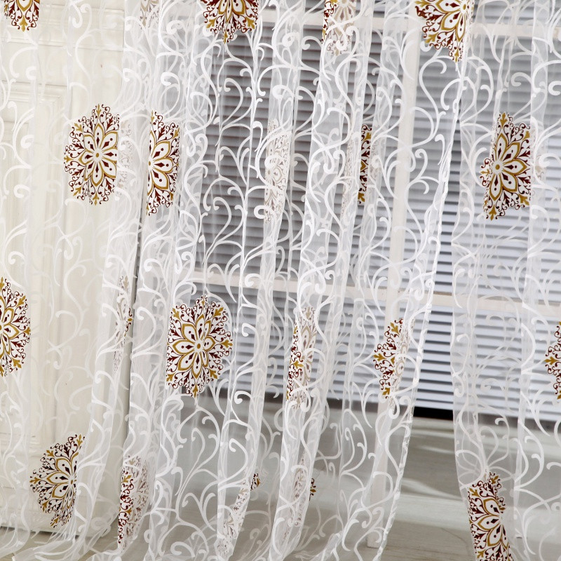 Home decor tulle volie volie window curtain screening for Home decor s13 9ad