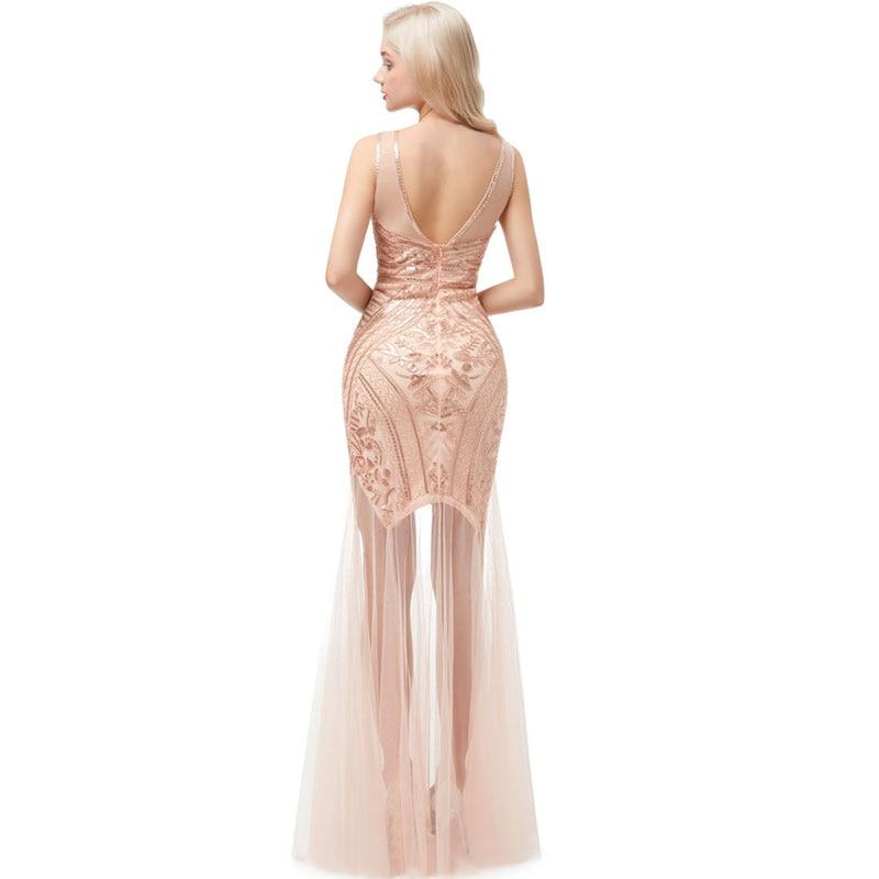 Женское вечернее платье с блестками beauty emily длинное официальное