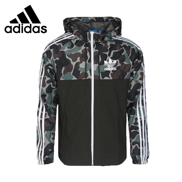 uk availability 333ef ed1c4 Original Neue Ankunft Adidas Originals CAMO REV WB Männer der jacke Kapuze  Sport
