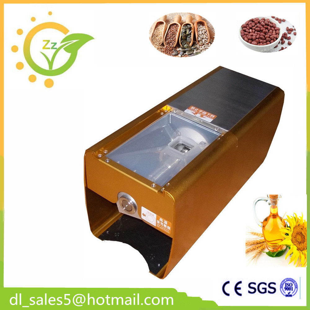 mini oil press / home oil press machine /seed oil press for sale design and construction of jatropha seed oil extracting machine