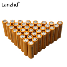 40pcs Li batteries 18650 rechargeable Battery for LED Flashlight Original Batteries ICR18650-26F 2600mAh Li-ion 3.7v Battery