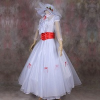 Mary Poppins World Party Dress Stage Costumes Bert Dress Nanny Dress Couple Cosplay Clothes Mans Suit
