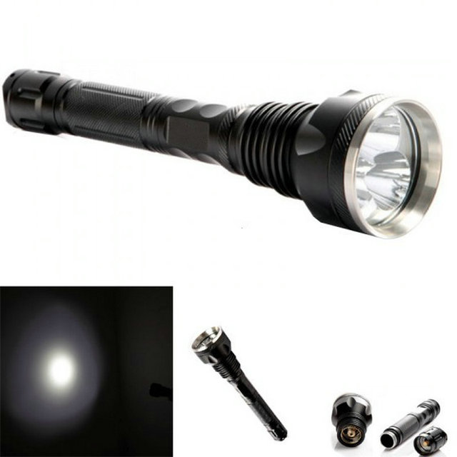Super Bright 4000 Lumen 3*T6 LED Flashlight 5-Mode Waterproof Torch Linternas Light Defense Torch Emergency Lampe Torche Hunting