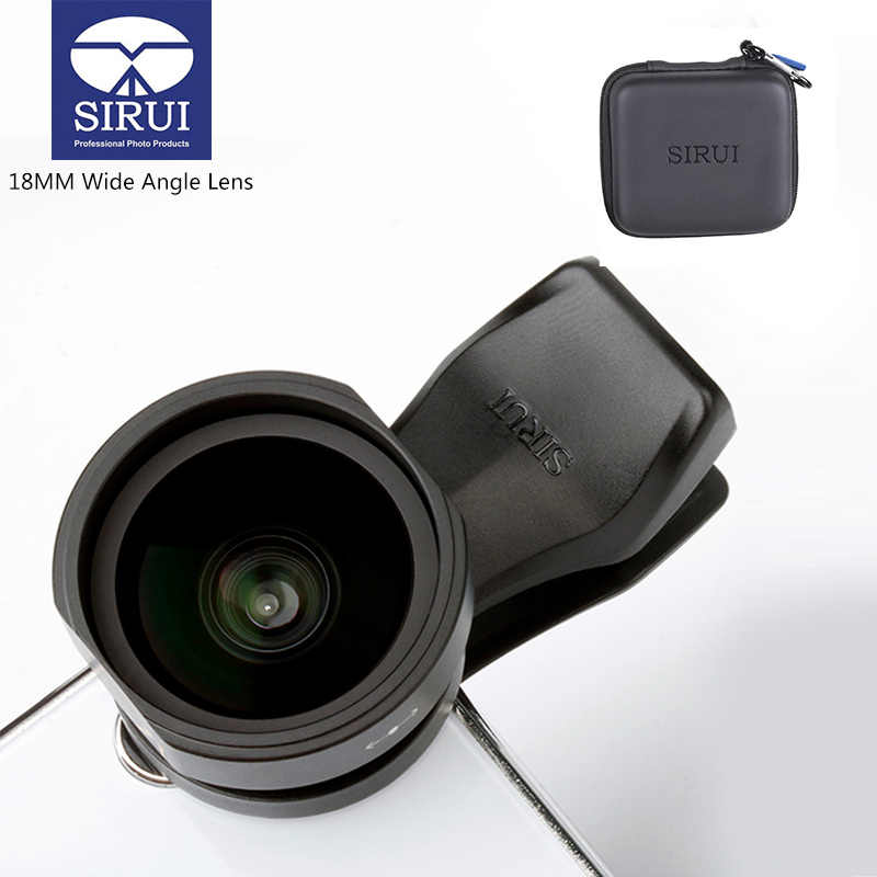 finest selection 9d767 ade64 Detail Feedback Questions about Sirui 18MM Wide Angle Phone Lens HD ...