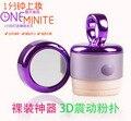 BB Крем Макияж Инструменты Косметические Puff 3D Электрический Вибрации Пуховкой Для Макияжа Beauty Spa Тональный Крем