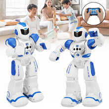 RC Robot Intelligent Remote Control Smart Robot Toys Biped Humanoid Robot for Kids Educational Children's Toy Birthday Gift(China)