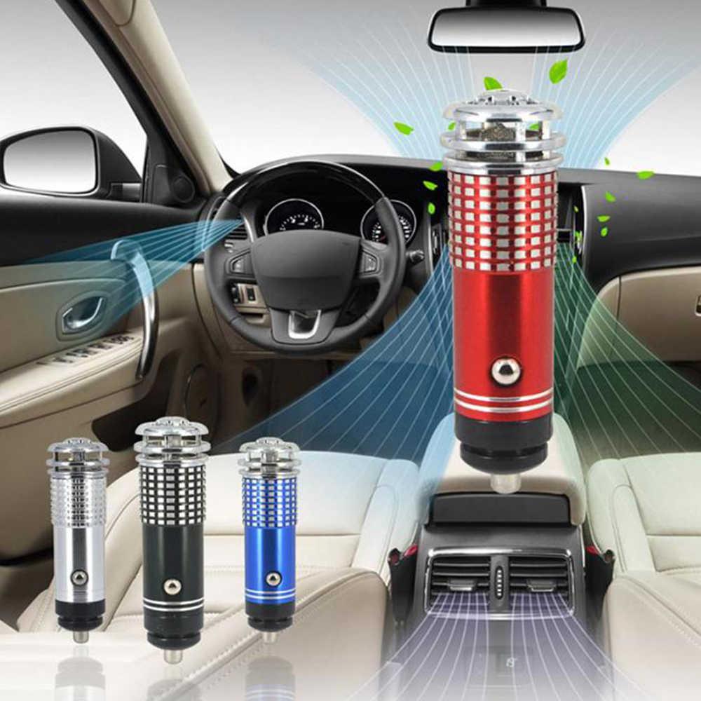 2 PCS/SE Auto Purificatore D'aria 12V Mini Auto Car Fresh Air anione Ionico Barra Dell'ossigeno del Purificatore di Ozono ionizzatore cleaner Veicolo Bevanda Rinfrescante di Aria