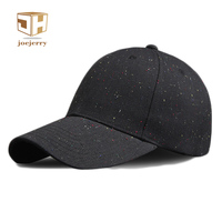 2017 Unisex Spring Summer Baseball Caps Black White Cotton Long Brim Mens Womens Snapback Hats And