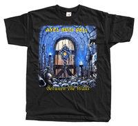 Axel Rudi Pell Between The Walls T Shirt 100% Cotton Sizes S 5Xl Black Blue