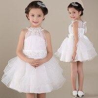 Snow White Wedding Kleider für Mädchen Kinder Tutu Prinzessin Ballkleid Kleider Kleider Pegeant Partei Kostüm 1-10Y