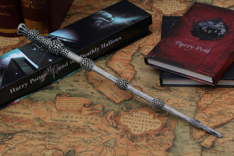 Fashion Magic Wand Harry Potter Wand 37cm Dumbledore scripture Edition Non-luminous wand with box